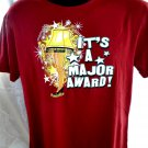 A Christmas Story Ringer T-Shirt ~ It's a Major Award ~Size Medium
