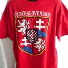 Czechoslovakia Czech T-Shirt CESKOSLOVENSKO Size XXL (2XL)