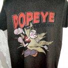 Retro Style POPEYE T-Shirt Size Large