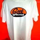 Geek Squad White T-Shirt Size XL ~ Computer Nerd