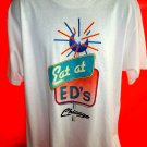 Eat at Ed's Chicago T-Shirt Size XL