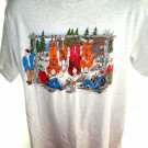 Funny Deer Hunter T-Shirt Size Large