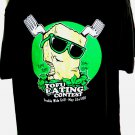 Funny TOFU EATING CONTEST Double Wide Grill T-Shirt Size XL