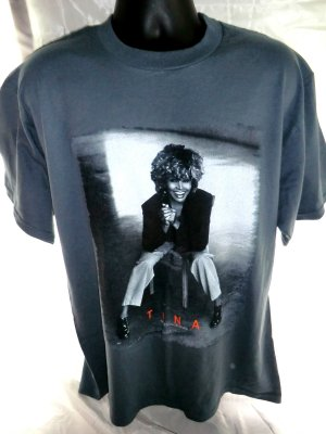 Tina Turner 24/7 2000 Tour T-Shirt Size Large