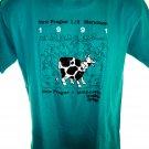 Vintage 1991 New Prague Minnesota ½ Marathon T-Shirt Size Medium