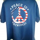 Peace is Patriotic T-Shirt Size XL