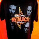 1999-2000 Kid Rock and METALLICA US Tour T-Shirt Size XL