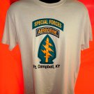 Special Forces AIRBORNE Fort Campbell  KY T-Shirt Size Medium