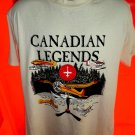 Canadian Legends Floatplane Plane T-Shirt Size Large
