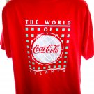 Vintage 1991 World of Coca Cola T-Shirt Size XL Atlanta Georgia