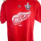 2008 Detroit Red Wings Stanley Cup T-Shirt Size Medium