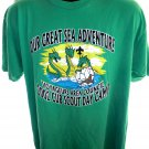 Cub Scout Day Camp 2002 T-Shirt Great Sea Adventure Size XL