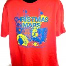 The Flaming Lips Promo Christmas on Mars T-Shirt Size XL