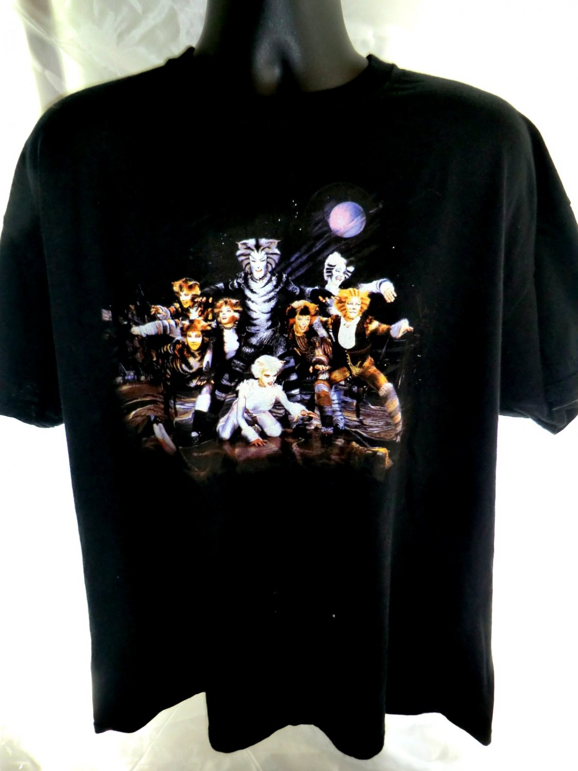 Vintage Cats Musical T Shirt
