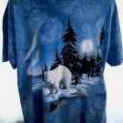 Polar Bear T-Shirt Size XL Beautiful Vintage 1999