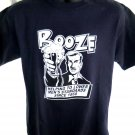 Funny Booze T-Shirt Helping Lower Men's Standards Size Medium