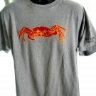 Woods Hole MA /Mass Crab T-Shirt Size Large