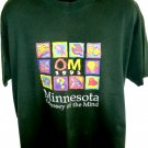 Vintage 1995 Minnesota Odyssey of the Mind T-Shirt Size XL