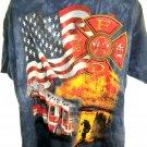 Firefighter Fireman T-Shirt Size XXL