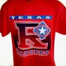 Vintage 1997 Texas Rangers T-Shirt Size Large