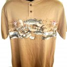New Fish/ Fishing T-Shirt Size Large