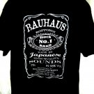 BAUHAUS Rock Band JAPAN Japanese Club T-Shirt Size XL