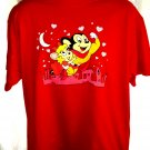 Retro Mighty Mouse Red T-Shirt Size XL