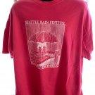 Vintage 1982 Seattle Rain Festival January 1st to December 31st T-Shirt Size XXL