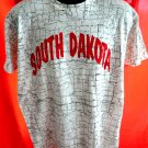 South Dakota SD Map T-Shirt Size Large