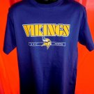 Minnesota Vikings T-Shirt Size Medium/Large