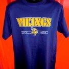 Minnesota Vikings T-Shirt Size Medium/Large