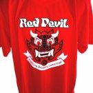 Red Devil Fighting Dreams Come True T-Shirt Size Large/XL KOREA Korean