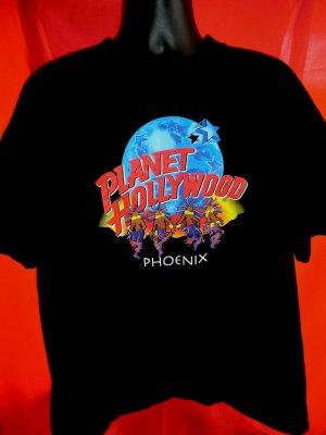 Vintage planet hollywood phoenix arizona t shirt size xl for Planet hollywood t shirt