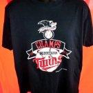 Vintage 1987 Minnesota Twins T-Shirt Size Large MN
