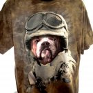 Army Soldier Dog T-Shirt Size XL