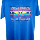 Vintage 1989 Oklahoma Is Indian Territory T-Shirt Size Large