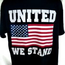 UNITED WE STAND American Flag T-Shirt Size XL