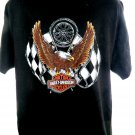 Indianapolis Indiana 1996 Harley Davidson Dealer T-Shirt Size XL