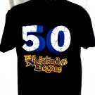 Funny 50th Birthday T-Shirt 50 The Nightmare Begins Size Large