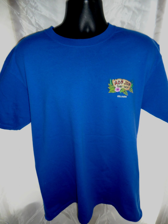 Sold ron jon surf shop orlando t shirt size large for Surf shop tee shirts