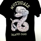 Scottsdale Guard Dog Rattle Snake T-Shirt Size Large