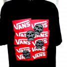 VANS Skull T-Shirt Size XXL