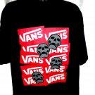 VAN'S Skull T-Shirt Size XXL