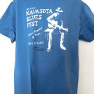 16th Annual Navasota Blues Fest 2011 T-Shirt Size Large Texas