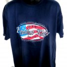 FREEDOM RINGS T-Shirt Size XL 4th of July United States of America USA