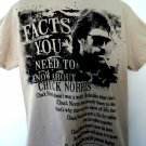 Fun Facts About Chuck Norris T-Shirt Size Large