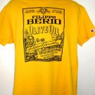 FILIPPO BERIO Olive Oil T-Shirt Size Large