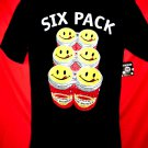 NEW Joe Boxer 6 PACK T-Shirt Size Medium