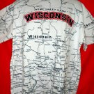 Home Sweet Home WISCONSIN T-Shirt Size XL State of WI