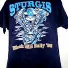 Sturgis Motorcycle Rally 1996 T-Shirt Size Large